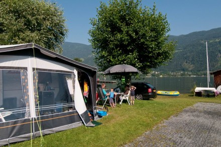 Campingzelt am Ossiacher See